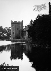 Maxstoke, Castle From Moat 1950