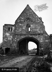 Maxstoke, Priory Gatehouse c.1955