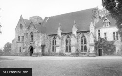 Mayfield, Convent Of The Holy Child Jesus c.1960