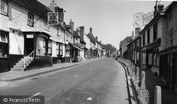 Mayfield, High Street And Royal Oak c.1960