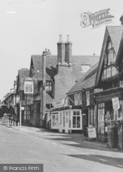 Mayfield, High Street Businesses c.1960