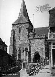 Mayfield, Memorial And St Dunstan's Church c.1960