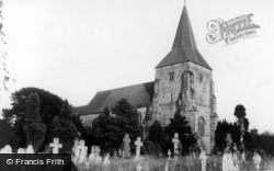 Mayfield, St Dunstan's Church c.1950