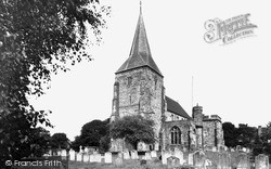 Mayfield, St Dunstan's Church c.1955