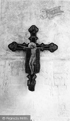 The Crucifix, Convent Of The Holy Child Jesus c.1965, Mayfield