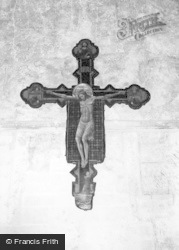 Mayfield, The Crucifix, Convent Of The Holy Child Jesus c.1965