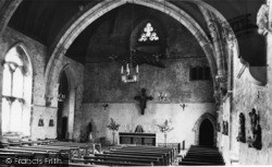 Mayfield, The Interior, Convent Of The Holy Child Jesus c.1965