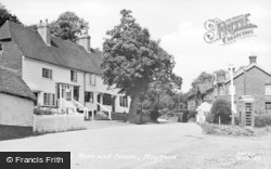 Mayfield, The Rose And Crown c.1955