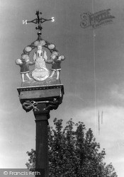 Mayfield, The Village Sign c.1950