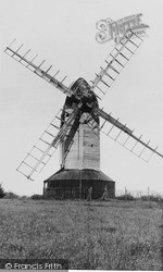 Mayfield, The Windmill, Argos Hill c.1955