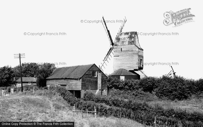Mayfield,the Windmill, Argos Hill c1955,Sussex