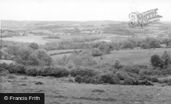 Mayfield, View From Old Windmill, Argos Hill c.1955