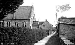 Church Path c.1950, Meare