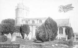 St Mary's Church 1904, Meare