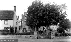 The Church And Cross c.1960, Meare