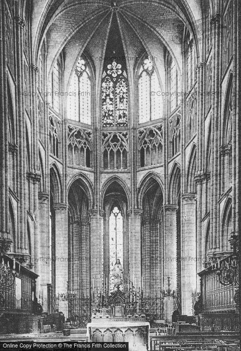 Photo of Meaux, Cathedral, Interior c.1935