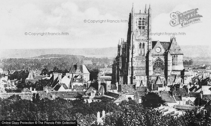 Photo of Meaux, St étienne Cathedral c.1935