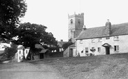 Meavy, the Village 1906