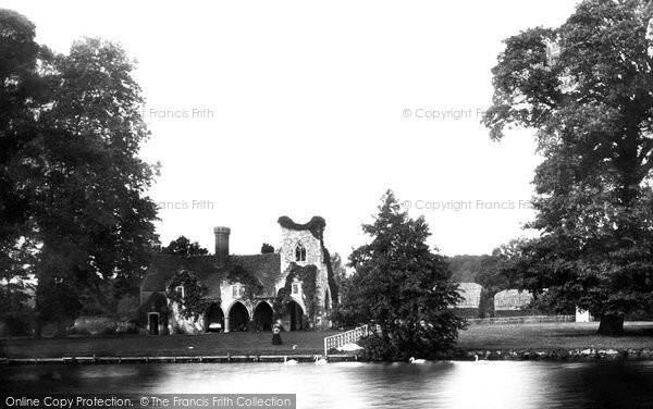 Medmenham, the Abbey 1890