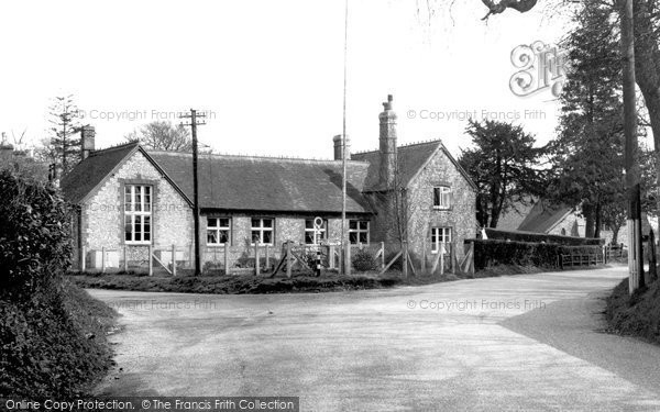 Photo of Medstead, The School c.1955