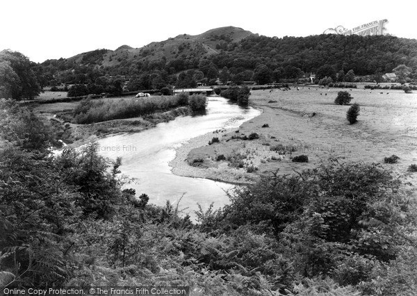Photo of Meifod, Broniarth Bridge c1950