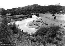 Meifod, Broniarth Bridge c.1950