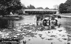 Meifod, Broniarth Bridge c.1955