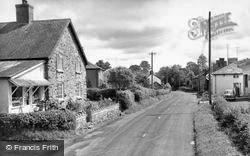Meifod, High Street c.1960