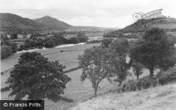 Meifod, River Vyrnwy And Meifod Valley c.1950