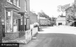 Meifod, The Post Office And Village c.1955