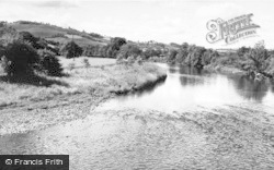 Meifod, The River Vyrnwy c.1960