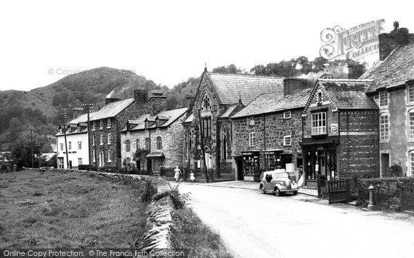 Photo of Meifod, the Village c1955