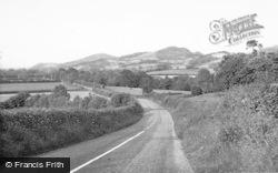 Meifod, View From Cefn Llwyd Llangynyw c.1955