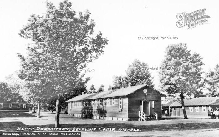 Photo of Meigle, Alyth Dormitory, Belmont Camp c.1955