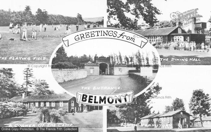 Photo of Meigle, Belmont Camp Composite c.1955