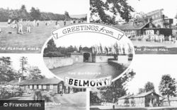 Meigle, Belmont Camp Composite c.1955