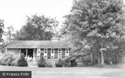 The Assembly Hall, Belmont Camp c.1955, Meigle