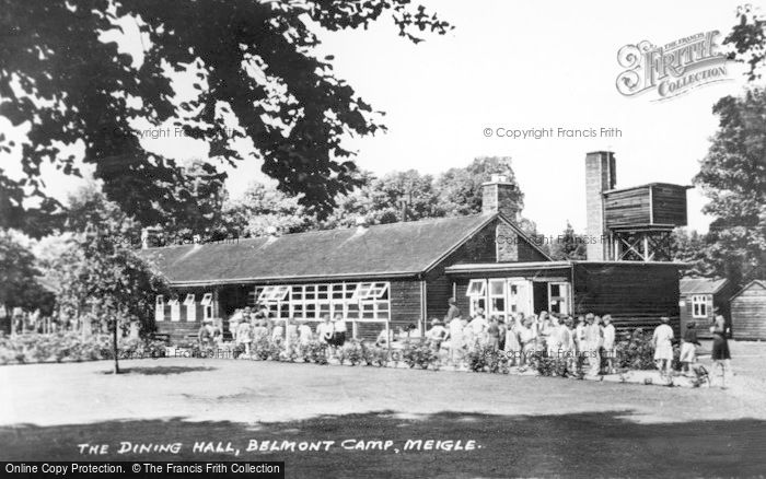 Photo of Meigle, The Dining Hall, Belmont Camp c.1955