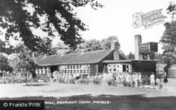 Meigle, The Dining Hall, Belmont Camp c.1955
