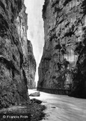The Gorge Of The Aare c.1935, Meiringen