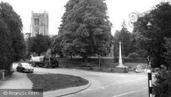 Melbourn, All Saints Church And Memorial c.1965