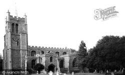 Melbourn, All Saints Church c.1960