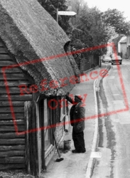 Cleaning The Window c.1965, Melbourn