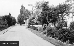Melbourn, Orchard Road c.1960