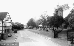 Melbourn, Station Road c.1955