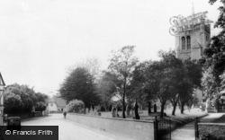 Melbourn, Station Road c.1965