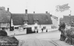 Melbourn, Thatched Houses c.1965