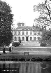 Hall From The Lake c.1955, Melbourne