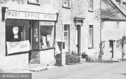 Post Office Stores c.1955, Melbury Osmond