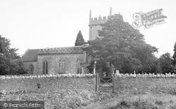 St Osmond's Church 1955, Melbury Osmond